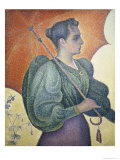 Portrait of Bertha Signac Giclee Print by Paul Signac