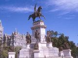 Capitol Square, Richmond, Virginia Photographic Print by Lynn Seldon