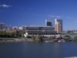 Riverfront View of Downtown, Knoxville, Tennessee Photographic Print by Walter Bibikow