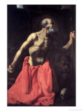 Saint Jerome, 17th century Giclee Print by Francisco de Zurbarán