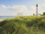 Bill Baggs Cape Florida Lighthouse, Bill Baggs Cape Florida State Park, Key Biscayne, Florida Photographic Print by Maresa Pryor