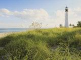 Bill Baggs Cape Florida Lighthouse, Bill Baggs Cape Florida State Park, Key Biscayne, Florida Photographic Print by Maresa Pryor