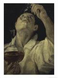 Homme du Vin Giclee Print by Annibale Carracci
