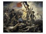 La Liberte Guidant Le Peuple Giclee Print by Eugene Delacroix