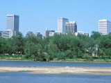 Arkansas River, Tulsa, Oklahoma Photographic Print by Mark Gibson