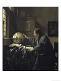 Astronomer, c.1668 Giclee Print by Jan Vermeer