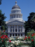 California State Capitol Building, Sacramento, California Photographic Print by Peter Skinner