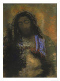 Christ of the Sacred Heart Giclee Print by Odilon Redon