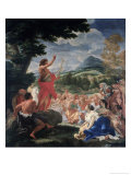 The Sermon of St. John the Baptist Giclee Print by Giovanni B. Gaulli
