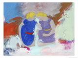 Two Women Giclee Print by Peggy Brown