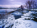 Giant Springs State Park in Winter, Great Falls, Montana Photographic Print by Chuck Haney