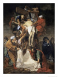 The Descent from the Cross Giclee Print by Jean-Baptiste Jouvenet