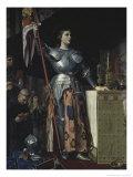 Joan D'Arc Au Sacre de Charles VII Giclee Print by Jean-Auguste-Dominique Ingres