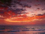 Sunrise Over the Atlantic Ocean, West Palm Beach, Florida Photographic Print by Adam Jones