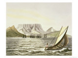 View of the City of the Cape of Good Hope Giclee Print by Ludwig Choris