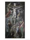 The Crucifixion Giclee Print by  El Greco