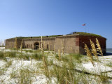 Fort Massachusetts, Ship Island, Gulf Islands National Seashore, Mississippi Fotografie-Druck von Franklin Viola