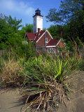 Presque Isle Lighthouse, Presque Isle State Park, Erie, Pennsylvania Photographic Print by Ian Adams