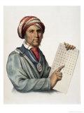 Sequoyah, Giclee Print