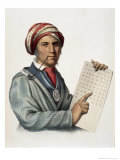 Sequoyah Giclee Print by Thomas Loraine Mckenney