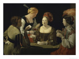 Cheat with c.1635 Giclee Print by Georges de La Tour