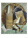 Bottle of Banyuls, c.1914 Giclee Print by Juan Gris