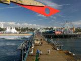 Santa Monica Pier, Santa Monica, Los Angeles, California Photographic Print by Walter Bibikow