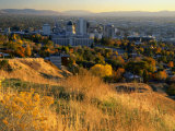Salt Lake Valley in Autumn, Salt Lake City, Utah Photographic Print by Scott T. Smith