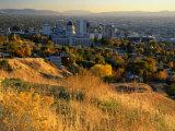Salt Lake Valley in Autumn, Salt Lake City, Utah Photographic Print by Scott T. Smith