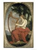 Calliope Giclee Print by Eustache Le Sueur