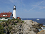 Portland Head Light, Cape Elizabeth, Maine Photographic Print by Keith & Rebecca Snell