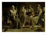 Family of Peasants Giclee Print by Louis Le Nain