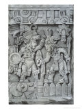 Stone of Tizoc Giclee Print by Johann Friedrich Maximilian Von Waldeck