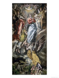Assumption of the Virgin Giclee Print by  El Greco