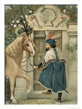 The Merchant Found a Little Door in the Wall Giclee Print by Eleanor Vere Boyle
