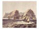 Island of St. Helene Giclee Print by Ludwig Choris