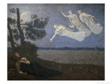 Thele Reve Dream Giclee Print by Pierre Puvis de Chavannes