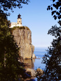 Split Rock Lighthouse, Two Harbors, Lake Superior, Minnesota, Photographic Print