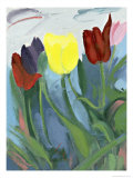 Tulips Giclee Print by Peggy Brown