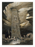 Well at Bolonchen Giclee Print by Frederick Catherwood