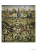 Garden of Earthly Delights, c.1510 Giclee Print by Hieronymus Bosch