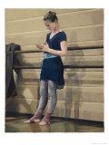 Ballerina at Rest Giclée-Druck von Helen J. Vaughn