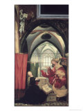 The Isenheim Altarpiece, Annunciation Giclee Print by Matthias Grünewald