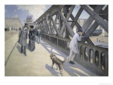 Le Pont de L'Europe Giclee Print by Gustave Caillebotte