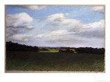 Evening Landscape in Summer Giclée-Druck von Helen J. Vaughn