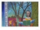 Writer, Dreamer Giclee Print by Helen Lurye