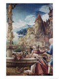 The Rest on the Flight to Egypt Giclee Print by Albrecht Altdorfer
