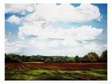 Landscape in S. Tennessee Giclee Print by Helen J. Vaughn
