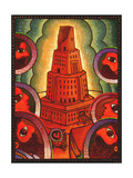 Tower of Babel Giclee Print by John Newcomb