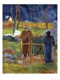 Bonjour Monsieur Gauguin Premium Giclee Print by Paul Gauguin